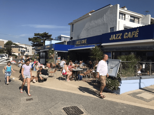 Jazz Caffe - a music and food venue in the heart of Sandbanks!