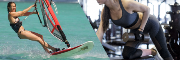 Windsurfing as exercise
