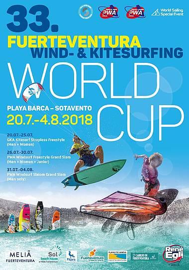 PWA Fuerteventura Grand Slam 2019 Poster