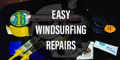 Easy Windsurfing Repairs | Part 3: Quick sail repair