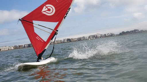 Falling in is not one of windsurfing mistakes- it's part of learning!